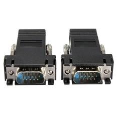 Bộ chuyển đổi 2 đầu VGA To LAN