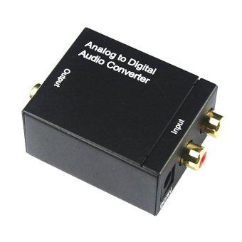 Bộ chuyển đổi âm thanh AV RCA R L AUDIO sang Optical Coaxial Gia Bách