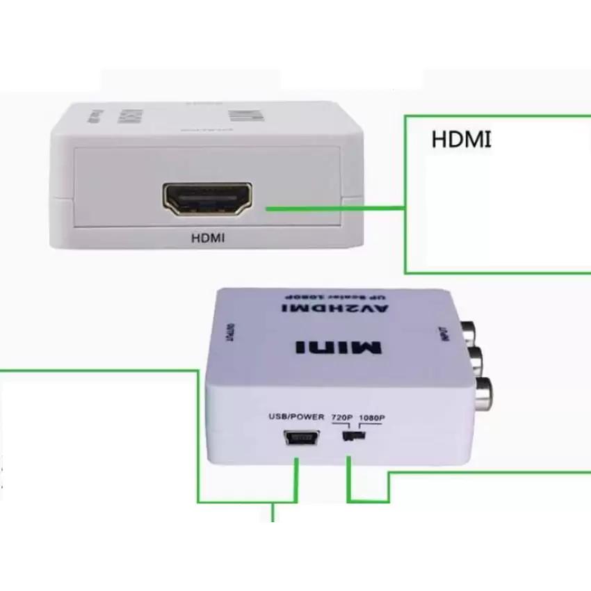 Bảng Giá Bộ chuyển đổi AV sang HDMI Full HD 1080p (Trắng)