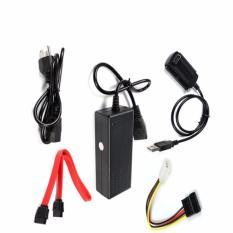 Bộ chuyển đổi cáp USB 2.0 sang IDE SATA (Đen)