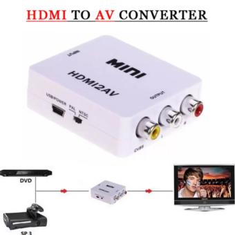 Bộ chuyển đổi mini HDMI sang AV MHCA01 (Trắng)