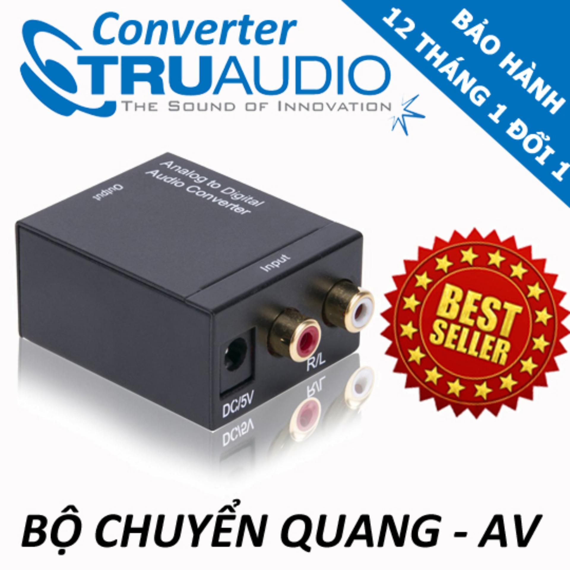 Đánh Giá Bộ chuyển đổi Optical audio sang AV