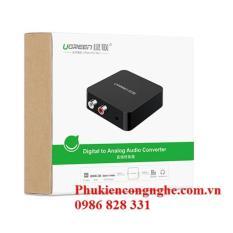Bộ chuyển đổi Quang sang Audio Ugreen UG-30910 (Quang to AV)