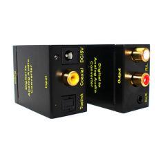 Bảng Giá Bộ chuyển đổi tín hiệu âm thanh quang Optical sang loa , amply Audio 3.5 , Audio R/L