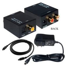 Bộ chuyển đổi tín hiệu âm thanh Smart tivi sang Loa, Amply ( đen )