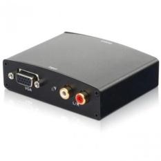 Bộ chuyển đổi tín hiệu từ VGA sang HDMI vỏ sắt Full HD (Đen)