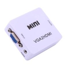 Bộ chuyển đổi tín hiệu từ VGA sang HDMI VGA to HDMI converter (Trắng)