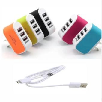 Bộ Cốc sạc điện thoại đa năng 3 cổng USB cao cấp+ Cáp sạc tiện ích. - 8189093 , HO736ELAA3TC4TVNAMZ-6816794 , 224_HO736ELAA3TC4TVNAMZ-6816794 , 96000 , Bo-Coc-sac-dien-thoai-da-nang-3-cong-USB-cao-cap-Cap-sac-tien-ich.-224_HO736ELAA3TC4TVNAMZ-6816794 , lazada.vn , Bộ Cốc sạc điện thoại đa năng 3 cổng USB cao cấp+ Cáp s