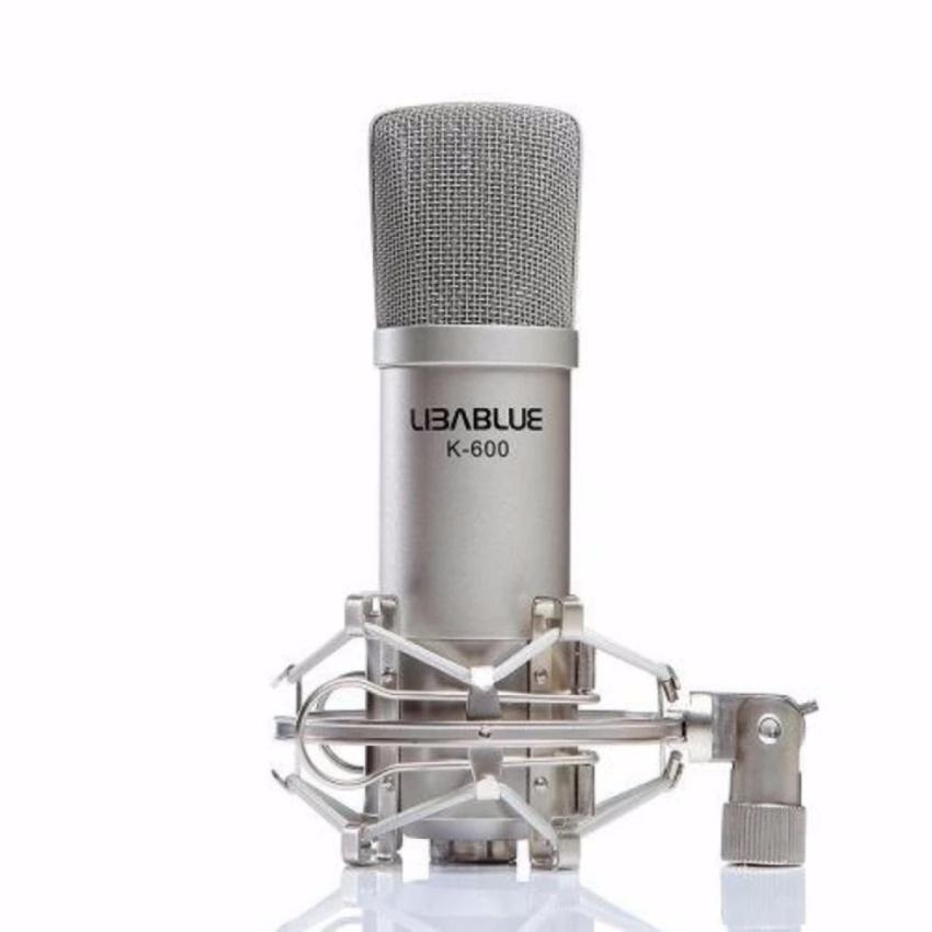 Bộ combo LIBABLUE LD-K600 + sound card XOX K10 hát karaoke/live stream chuyên nghiệp