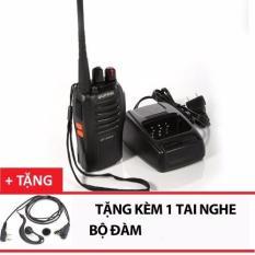 Bộ đàm Baofeng 888s + Tai Nghe Bộ Đàm