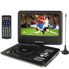 Bộ Đầu DVD có màn hình,chơi game, xem tivi Portable EVD 9.8inch (Đen)
