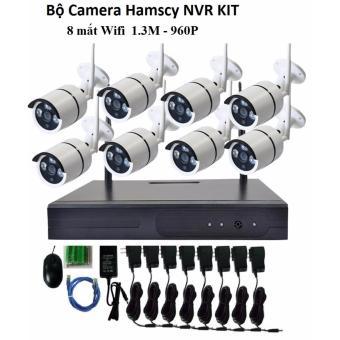 Bộ đầu ghi camera wifi Hamscy NVR HD + 8 camera wifi 960p- 1.3M - 8394403 , OE680ELAA4LI10VNAMZ-8446428 , 224_OE680ELAA4LI10VNAMZ-8446428 , 6100000 , Bo-dau-ghi-camera-wifi-Hamscy-NVR-HD-8-camera-wifi-960p-1.3M-224_OE680ELAA4LI10VNAMZ-8446428 , lazada.vn , Bộ đầu ghi camera wifi Hamscy NVR HD + 8 camera wifi 960p-