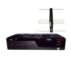 Bộ đầu thu kỹ thuật số DVB-T2/HP-1115 kèm anten có mạch khuếch đại