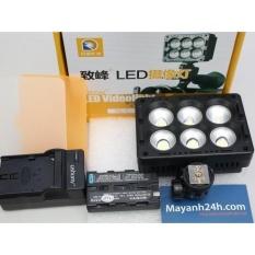 Bộ đèn Led quay phim và chụp ảnh ZIFON T6-C – Kèm Pin và Sạc