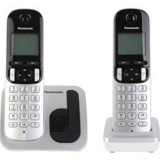 Bộ điện thoại 2 máy con không dây Panasonic KX-TGC212