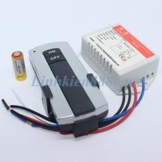 Bộ điều khiển xa RF 315Mhz gồm remote 2 phím và module thu 1 kênh công suất 200W MTC-401