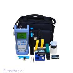 Bộ dụng cụ làm cáp mạng cao cấp gồm: Máy đo công suất quang đa năng HX + Dụng cụ cắt sợi quang FC 6S + Bút soi quang 1km + 2 kìm tuốt quang cao cấp + 1 lọ đựng cồn rửa dụng cụ + Tặng 1 túi đựng bộ dụng cụ siêu gọn