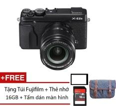 Bộ Fujifilm X-E2s 16.3MP và Les kit XF 23mm F2r (Đen) + Tặng 01 thẻ nhớ 16GB + 01 túi và 01 miếng dán màn hình – Hãng Phân phối chính thức