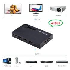 Bộ gộp HDMI 5 vào 1 ra hỗ trợ 3D full HD 4K Ugreen UG-40205