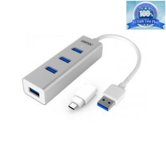 Bộ Hub Chia Type-C và USB 3.0 thành 4 cổng USB 3.0 Unitek Y-3082B (Bạc) - 8803390 , UN365ELAA2159PVNAMZ-3459341 , 224_UN365ELAA2159PVNAMZ-3459341 , 430000 , Bo-Hub-Chia-Type-C-va-USB-3.0-thanh-4-cong-USB-3.0-Unitek-Y-3082B-Bac-224_UN365ELAA2159PVNAMZ-3459341 , lazada.vn , Bộ Hub Chia Type-C và USB 3.0 thành 4 cổng USB 3.0