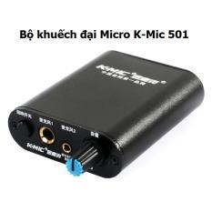 Bộ khuếch đại âm thanh và tạo echo cho micro K-Mic 501