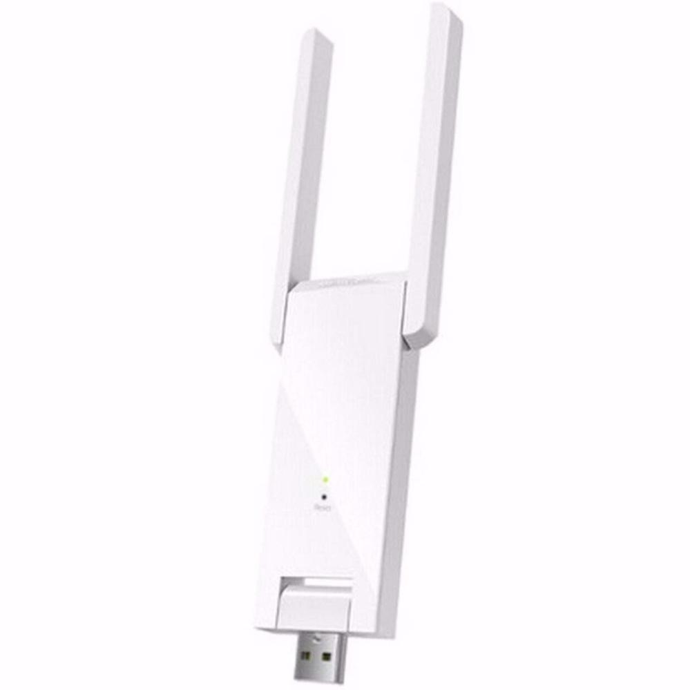 bộ khuếch đại wifi tặng củ sạc trắng