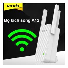 Bộ kích sóng Wifi cao cấp Tenda A12 ba râu (Bản nâng cấp của Tenda A9) sóng mạnh hơn – xa hơn