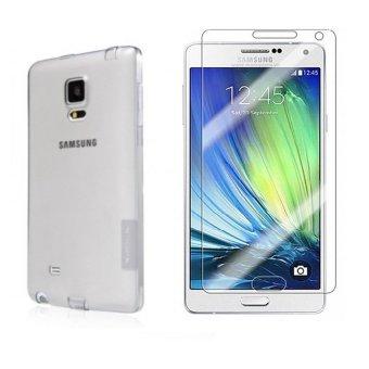 Bộ kính cường lực và ốp silicon trong suốt cho Samsung Galaxy J2prime