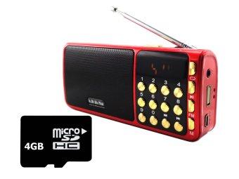 Bộ Loa nghe nhạc USB FM SA-932 (Đỏ) và Thẻ nhớ 4GB - 8372067 , OE680ELAA1EIM3VNAMZ-2218758 , 224_OE680ELAA1EIM3VNAMZ-2218758 , 349000 , Bo-Loa-nghe-nhac-USB-FM-SA-932-Do-va-The-nho-4GB-224_OE680ELAA1EIM3VNAMZ-2218758 , lazada.vn , Bộ Loa nghe nhạc USB FM SA-932 (Đỏ) và Thẻ nhớ 4GB