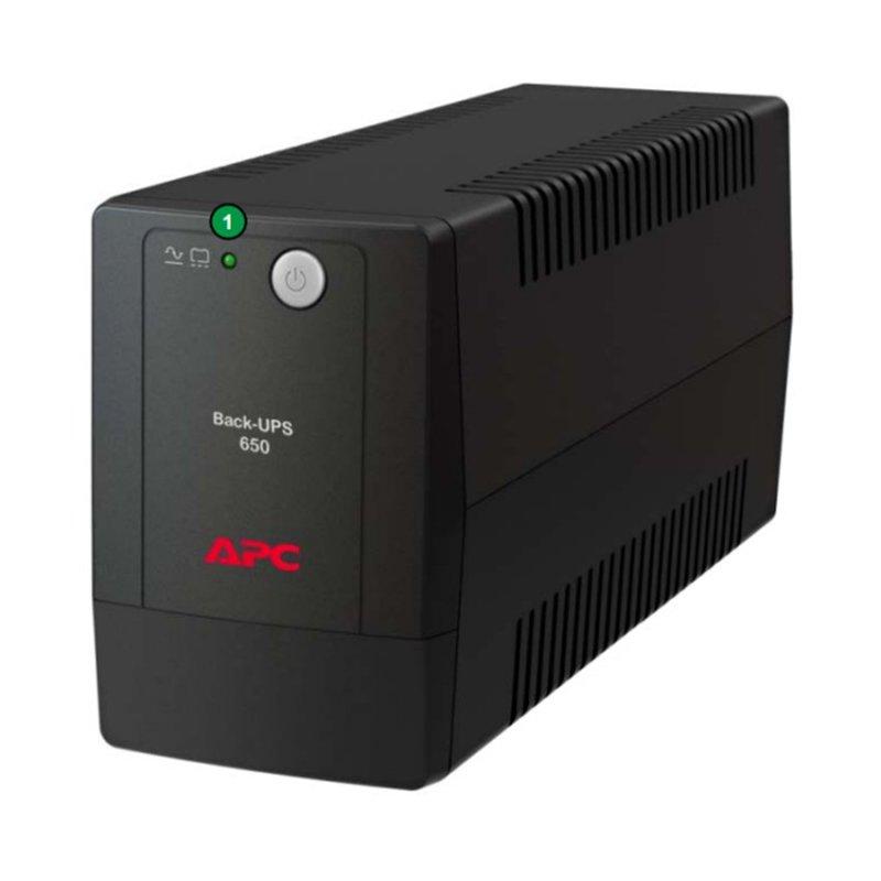 Bảng giá UPS APC Back-UPS BX650LI-MS 650VA / 325W (Black) Phong Vũ