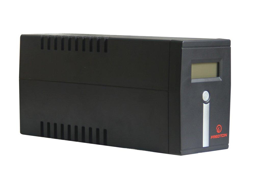 Bộ lưu điện UPS Fredton Line-Interactive UPS/LCD/USB/600 VA (đen)