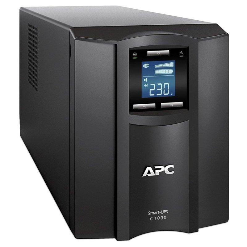 Bảng giá Bộ lưu trữ điện APC SMART-UPS C 1000VA LCD 230V (Đen) Phong Vũ