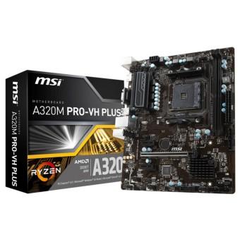 Bo mạch chủ Mainboard AMD Ryzen MSI A320M Pro VH Plus dành cho CPU Ryzen