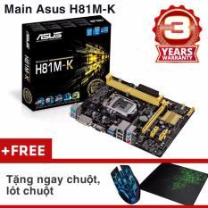 Bo Mạch Chủ (Mainboard) Asus H81M-K + Chuột, Lót Chuột