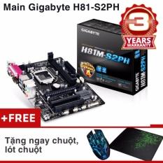 Bo Mạch Chủ (Mainboard) Gigabyte H81-S2PH + Chuột, Lót Chuột