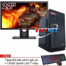 Đánh giá Bộ Máy tính bàn intel i5 2400 RAM 8GB 500GB có Dell 22in VietNet Tại VietNet Computer