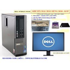 Chỗ nào bán Bộ Máy Tính Đồng Bộ Dell Opiplex 990 (core I3 /4G/500G) Và Màn Hình Dell 18.5inch (Đen) – Hàng Nhập Khẩu