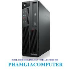 Bộ máy tính LENOVO THINKCENTRE Intel Core i3 530 4 nhân x 2.90up Ram3 4G Hdd 250G VGA NVIDIA QUADRO 600- Hàng nhập khẩu-Đen.