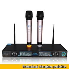 Bộ mic karaoke Shure, Mic Sony giá cao hơn bộ Mic không dây cao cấp kèm đầu thu cao cấp UG-99 (BY-8008) BH bởi Click – Buy