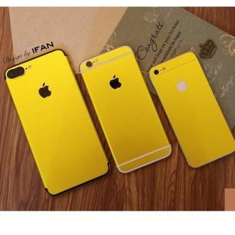 Bộ Miếng dán Skin cao cấp Iphone 7 PLUS vàng - hàng nhập