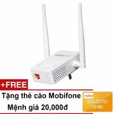 Bộ Mở Rộng Sóng Wifi Chuẩn N Tốc Độ 300Mbps Totolink EX200 + Tặng thẻ cào Mobifone 20,000đ – Hãng phân phối chính thức