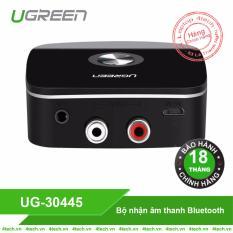 Bộ nhận âm thanh Bluetooth đầu ra 3,5mm kèm 2 đầu RCA Ugreen 30445.
