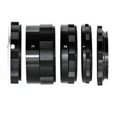 Bộ ống nối tăng độ phóng đại cho máy Canon JYC Macro Extension Tube For Canon (Đen).