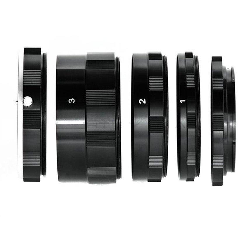 [HCM]Bộ ống nối tăng độ phóng đại cho máy Canon JYC Macro Extension Tube For Canon (Đen).