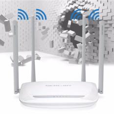 Bộ phát Wifi Mercury 4 Anten Siêu Mạnh Siêu Xuyên Tường Model 2017