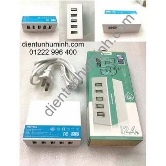 Đánh Giá Bộ sạc 5 cổng USB Remax RU-U1  Phụ kiện điện tử VN
