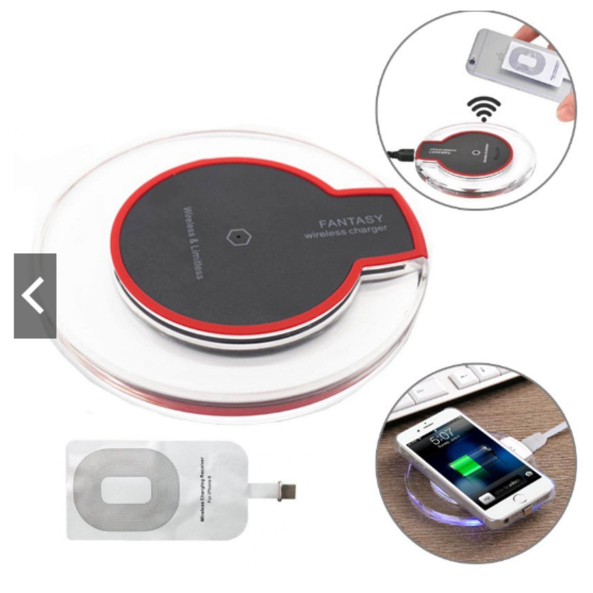 Bộ sạc không dây cho iphone 5,6,7 full bộ ( đế và bo mạch)