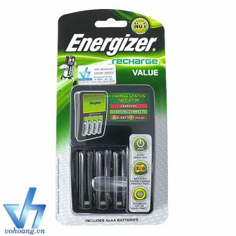Bộ sạc pin AA/AAA Energizer recharge Value