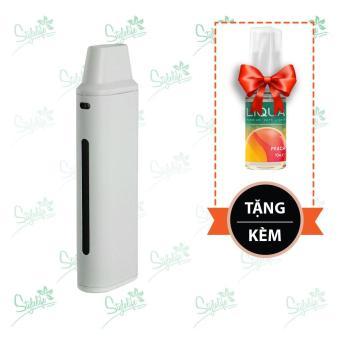 Bộ sản phẩm Eleaf iCare Mini (White) tặng 1 lọ tinh dầu New Liqua 10ml vị Đào