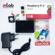 Bộ sản phẩm Raspberry Pi 3 cơ bản 3